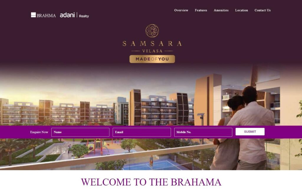 samsara vilasa edited 1024x640 - Why Does Your Real Estate Business Need a Website?